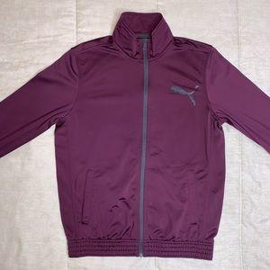 Purple Puma Track Jacket 📍